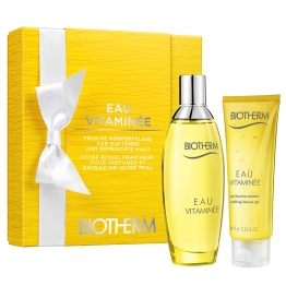 BIOTHERM COFFRET EAU VITAMINEE 100ML + GEL DOUCHE 75ML