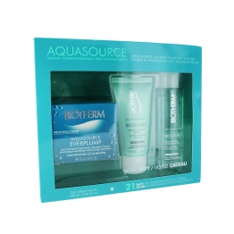 BIOTHERM COFFRET AQUASOURCE EVERPLUMP