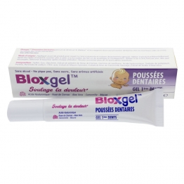 BLOXGEL GEL PREMIERES DENTS POUSSEES DENTAIRES 15ML