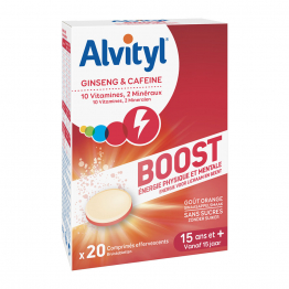 Boost 20 Comprimes Effervescents Alvityl