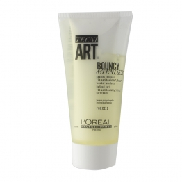 BOUNCY & TENDER BOUCLES TONIQUES FORCE 2 150ML TECNI ART L'OREAL PROFESSIONNEL