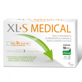 XL-S MEDICAL CAPTEUR DE GRAISSES 60 COMPRIMES
