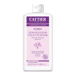 CATTIER GYNEA GEL SOIN DOUCEUR INTIME 200ML