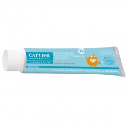 CATTIER KIDS DENTIFRICE ORANGE 7 ANS ET PLUS BIO 50ML