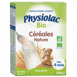 Cereales Riz Millet Quinoa Bio Physiolac 200g Gilbert