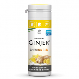 Chewing-Gum Au Gingembre Citron Au Xylitol 30g Ginjer®