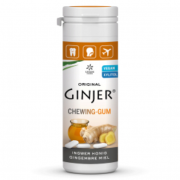 Chewing-Gum Au Gingembre Miel Au Xylitol 30g Ginjer®