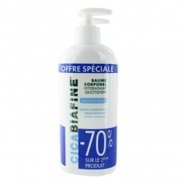CICABIAFINE BAUME HYDRATANT CORPOREL QUOTIDIEN 2X400ML