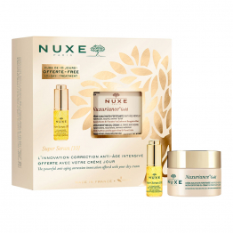 Coffret Anti-âge 2021 50ml+5ml Nuxuriance Gold Nuxe