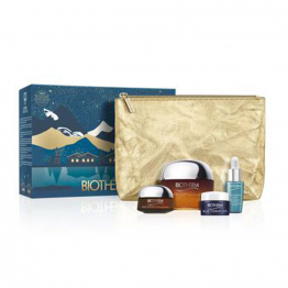 COFFRET ANTI-AGE ET NUTRITION REVITALIZE Blue Therapy Amber Algae Biotherm