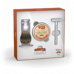 Coffret rasage traditionnel Men Care Vitry