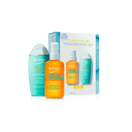 COFFRET solaire WATERLOVER SUN MIST 200ML + lait oligo-thermal Sun after 200ml Biotherm