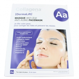 COLLAGENA DERMALIFT MASQUE HYDROGEL ANTI-AGE BOITE DE 5