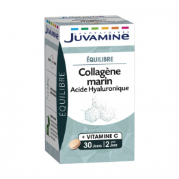 COLLAGENE MARIN ACIDE HYALURONIQUE 60 COMPRIMES JUVAMINE