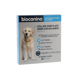 biocanipro grand chien collier biocanina