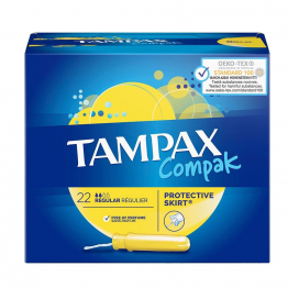 Compak Reguliers Tampons x22 Tampax