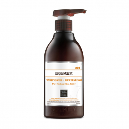 CONDITIONNER APRES-SHAMPOOING 500ML COLOR LASTING BEURRE DE KARITE PUR D'AFRIQUE SARYNA KEY