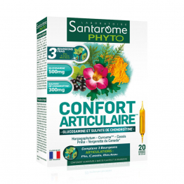 CONFORT ARTICULAIRE 20 AMPOULES SANTAROME PHYTO