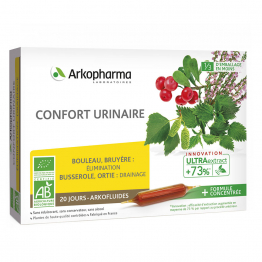 CONFORT URINAIRE BIO 20 AMPOULES ARKOFLUIDES ARKOPHARMA