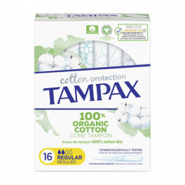 Cotton Comfort Regulier X16 Tampax