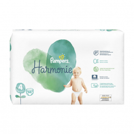 Couches Taille 4 x66 Harmonie 9 à 14kg Pampers