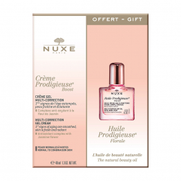 Crème Gel Multi Correction 40ml + huile prodigieuse 10ml offert Nuxe