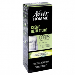 Creme depilatoire 200ml Corps Homme Nair