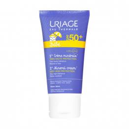 CREME MINERALE TRES HAUTE PROTECTION SPF50+ PEAUX FRAGILES 50ML BEBE URIAGE