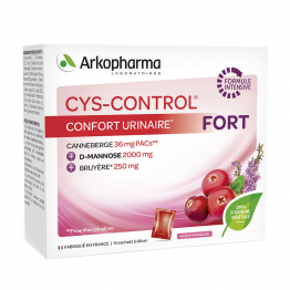 CYS-CONTROL CONFORT URINAIRE FORT 14 SACHETS ARKOPHARMA