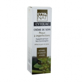 CYTOLNAT CYTOLAC CREME DE SOIN PEAUX A IMPERFECTIONS 50 ML