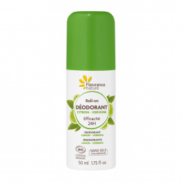 Déodorant Roll-on Citron Verveine 50ml Fleurance Nature