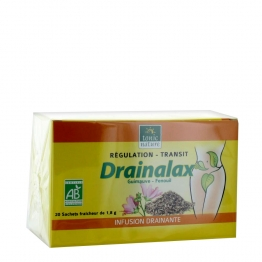 TONIC NATURE DRANALAX REGULATION TRANSIT INFUSION 20 SACHETS