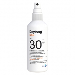 DAYLONG ULTRA GEL SPRAY SOLAIRE PEAUX GRASSES HAUTE PROTECTION SPF30 150ML