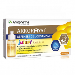 DEFENSES DE L'ORGANISME JUNIOR UNIDOSES 5X10ML ARKOROYAL ARKOPHARMA