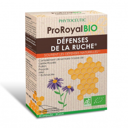 PHYTOCEUTIC PROROYAL BIO DEFENSES DE LA RUCHE A LA GELEE ROYALE 20 AMPOULES