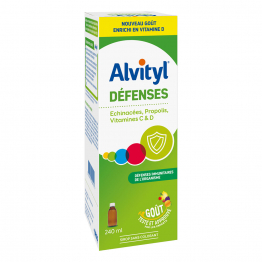 DEFENSES SIROP GOUT TUTTI FRUTTI 240ML ALVITYL
