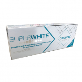 Dentifrice Blancheur Original 2x75ml Superwhite