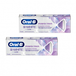 Dentifrice Perfection 2x75ml Luxe Blancheur avancée Oral-B