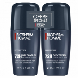 Deodorant 72h Bio Homme 2x75ml Day Control Biotherm