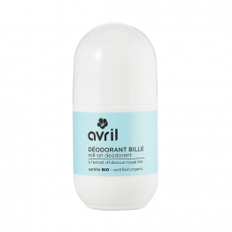 Deodorant bille a l'extrait d'hibiscus rouge bio 50ml Avril