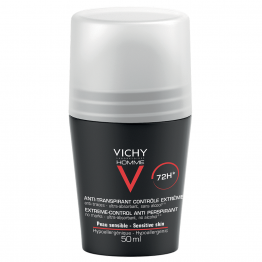 DEODORANT ANTI TRANSPIRANT EFFICACE 72H 50ML CONTROLE TRANSPIRATION HOMME VICHY