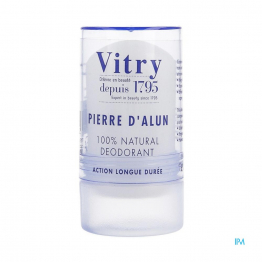 DEODORANT PIERRE D'ALUN 100% NATUREL 60G VITRY