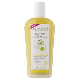 DERMACLAY SHAMPOOING SPECIFIQUE CHEVEUX BLONDS BIO 250ML