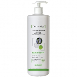 DERMACLAY SHAMPOOING USAGE FREQUENT BIO 1L