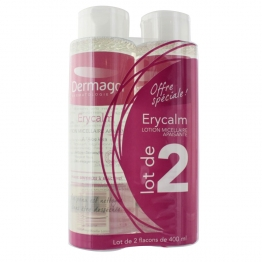 DERMAGOR ERYCALM LOTION MICELLAIRE 2X400ML