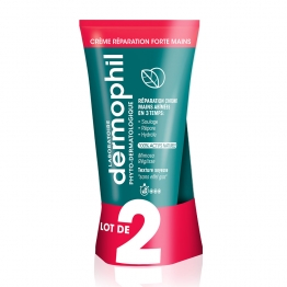 DERMOPHIL LOT DE 2 CREME MAINS REPARATION FORTE