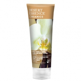 DESERT ESSENCE LOTION CORPS ET MAINS VANILLE 273ML