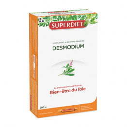 DESMODIUM 20 AMPOULES DE 15ML SUPERDIET