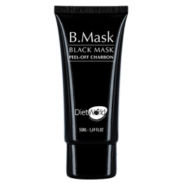 DIET WORLD B. MASK MASQUE NOIR AU CHARBON 50ML