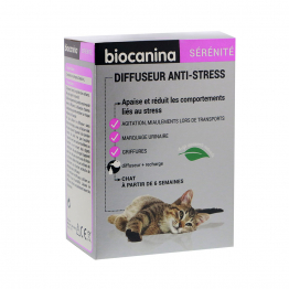DIFFUSEUR ANTI STRESS SERENITE BIOCANINA CHAT 45ML